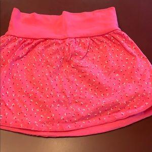 1 girls faded glory size 8 pink skirt